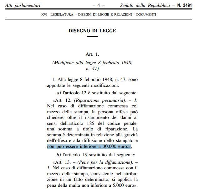 """La """"Legge Sallusti"""" minaccia i blog? Ecchissenefrega"""