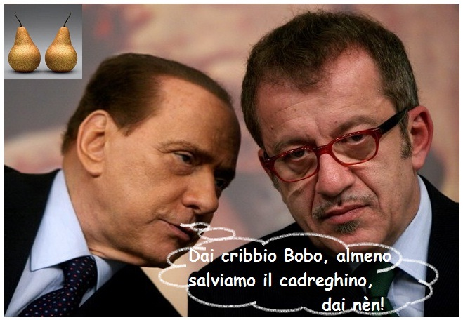 Bobo-Silvio, la buffa alleanza della frutta.