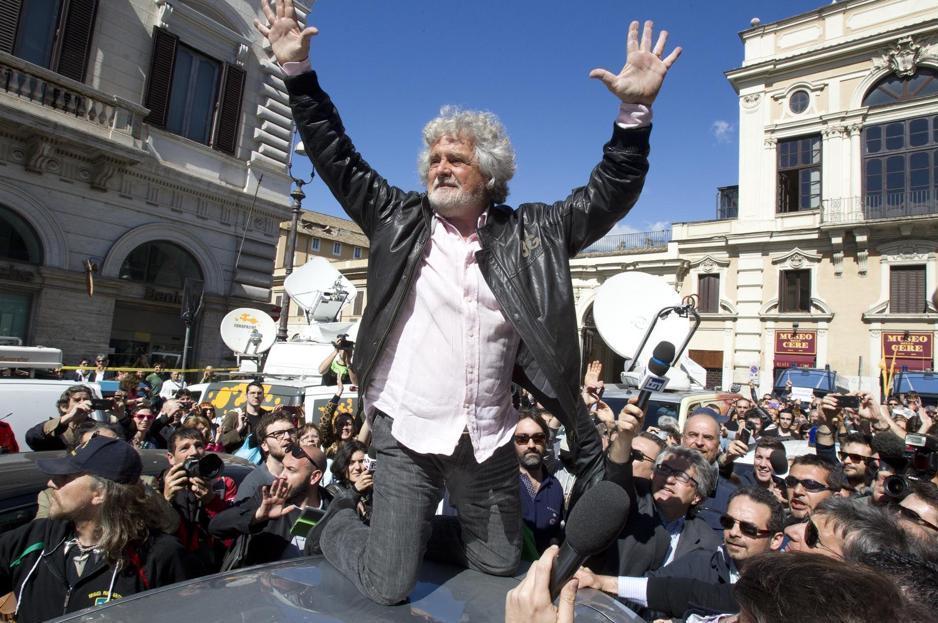 Vince Cav, ma anche Grillo. Perde la democrazia della Rete