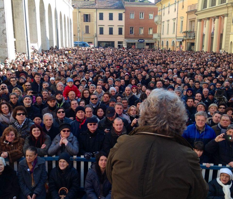 Beppe Grillo ci nomina ad Imola.
