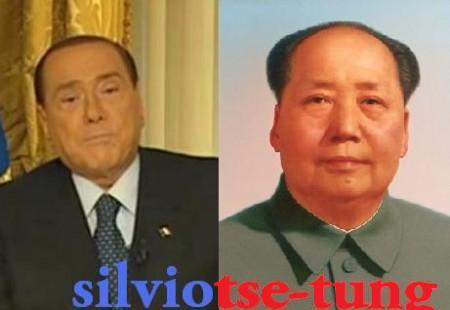 Berlusconi milkshake.