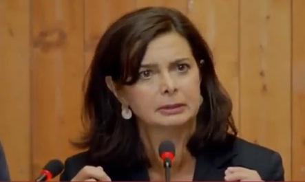 La Boldrini scende in politica.