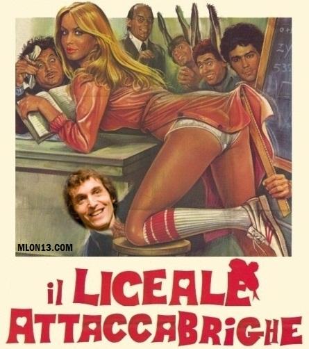 Giuseppe Cruciani attaccabrighe liceale (?)