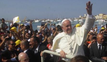 Bergoglio finisce con la cazzata