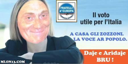 Un solo voto utile: Fabrizio Bracconeri. Daje Bru!