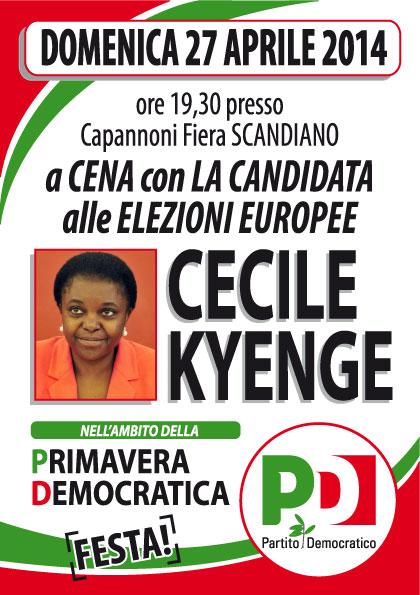 Kyenge candidata Europee