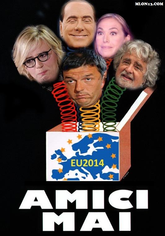 Renzi è senza Amici.