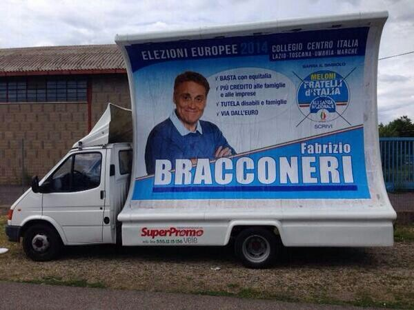 L'intervista al candidato Bracconeri