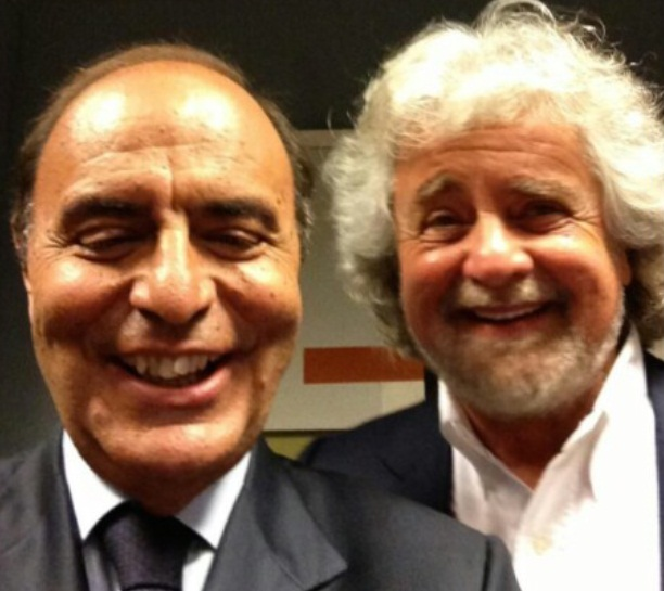 Grillo-Vespa Selfie