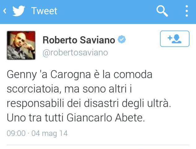 Saviano Genny 'a Carogna