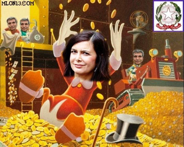 Spending review Boldrini.