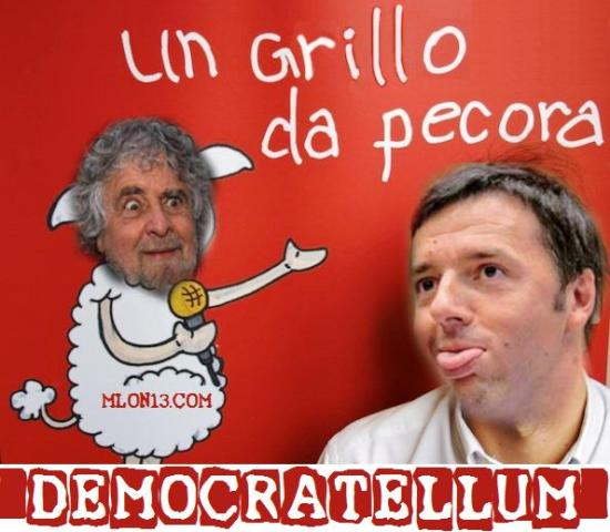 Democratellum fa rima con pentapartito.