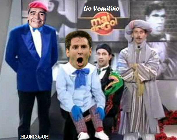 Mai più il paragone Messi-Pibe