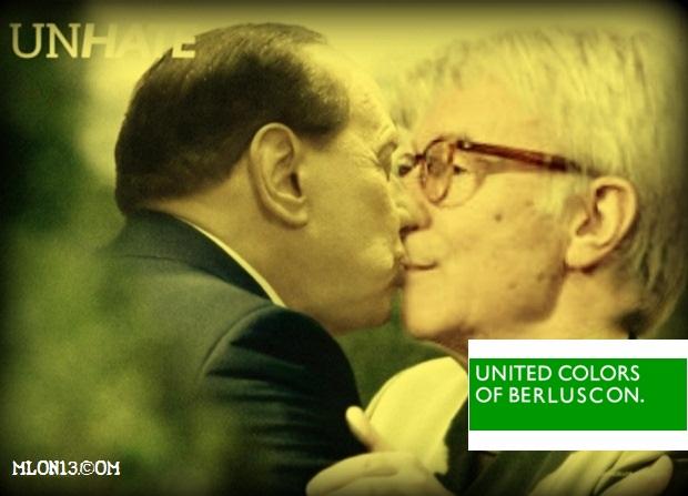 La svolta gay friendly di Silvio. E' tutto finito.
