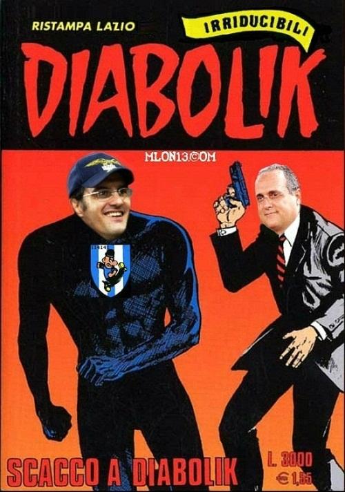 Diabolik si era fatto 2,3 milioni. Colpa di Lotito?