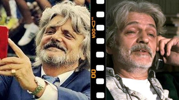 L'idolo Ferrero è Fabrizio Bentivoglio.