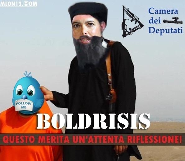 Laura giustifica anche l'Isis