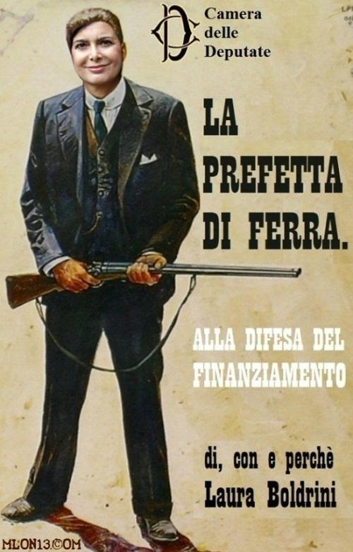 La Prefetta Boldrini.