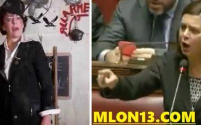 La Boldrini è Milly Corinaldi, hostess di Pappa e Ciccia